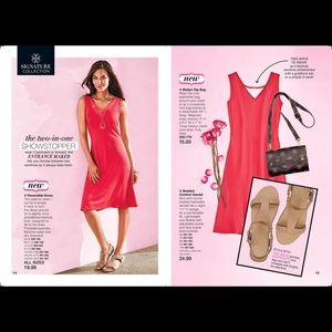 Avon Red Dress - Reversible